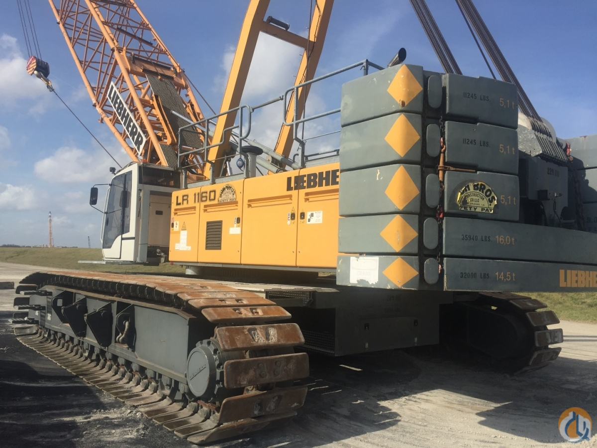 2009 Liebherr LR1160 Crane for Sale on CraneNetworkcom