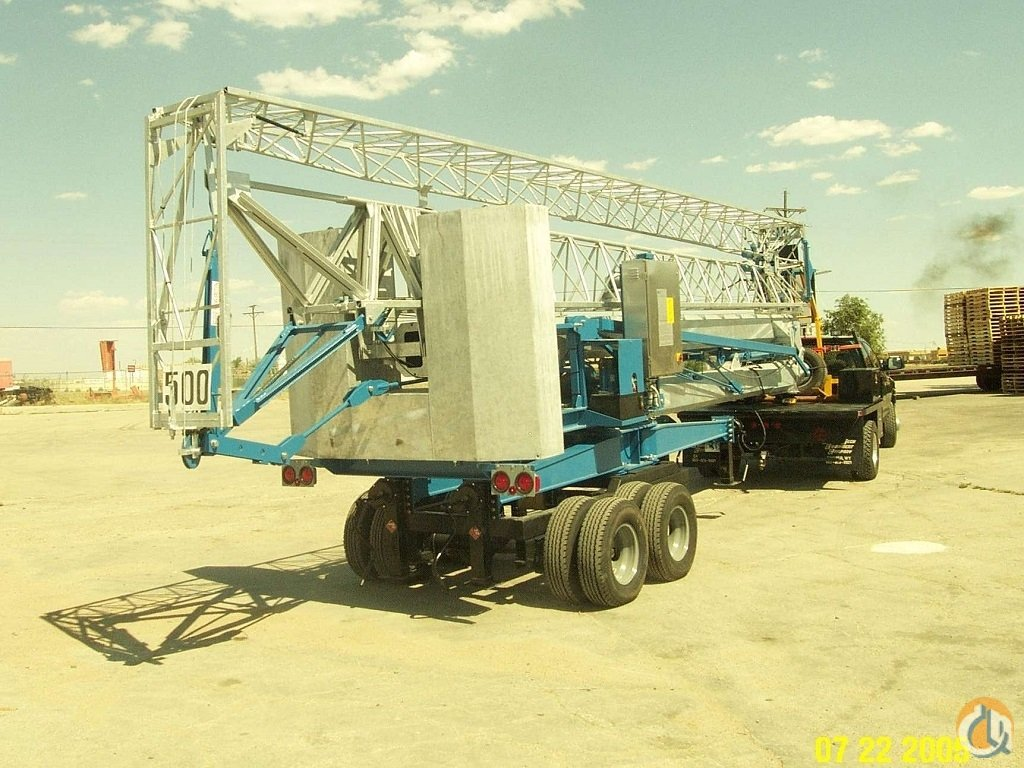2006 Benazzato 1179-SC Self-Erect Tower Crane Crane for Sale on CraneNetwork.com