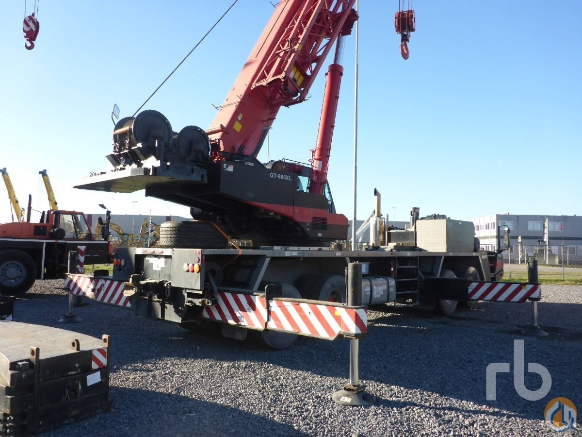 Sold 2009 TADANO GT900XL 8x4 Hydraulic Truck Crane Crane for  in Moerdijk North Brabant on CraneNetworkcom