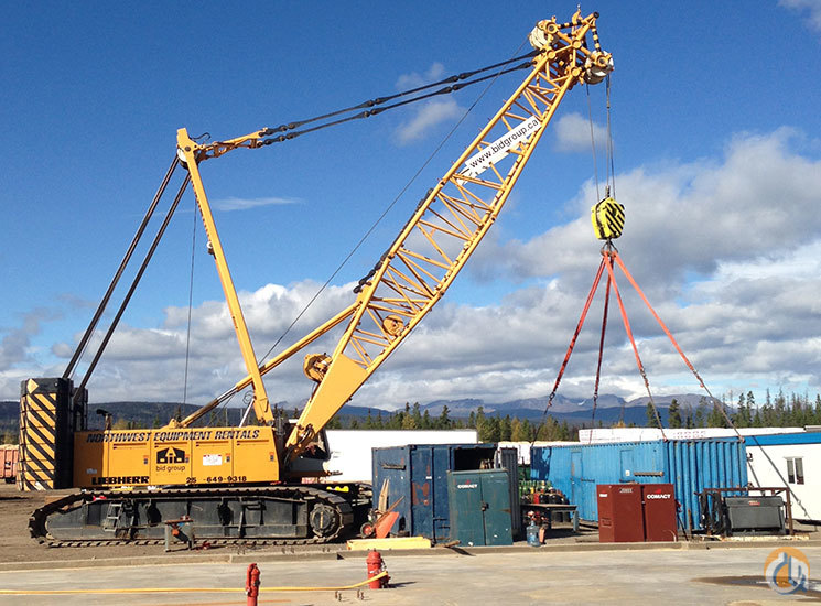2000 Liebherr LR1250 Crane for Sale in Prince George British Columbia on CraneNetworkcom