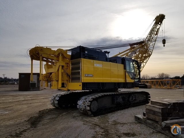 2018 Kobelco CK1100G-II Crane for Sale on CraneNetwork.com