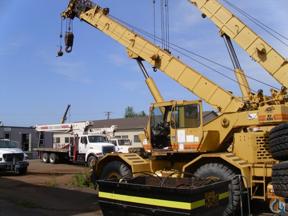 1986 Grove RT635 Crane for Sale in Mount Vernon Washington on CraneNetworkcom