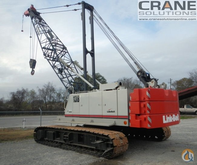 2010 Link Belt 138HSL Crane for Sale in Savannah Georgia on CraneNetworkcom