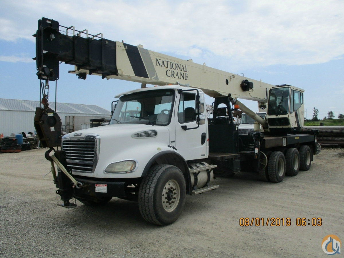 2007 National 15127A on a 2007 Freightliner Crane for Sale in Tampa Florida on CraneNetwork.com