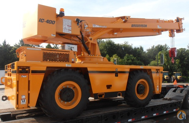 2014 Broderson IC-400-3A Crane for Sale in St. Augustine Florida on CraneNetwork.com