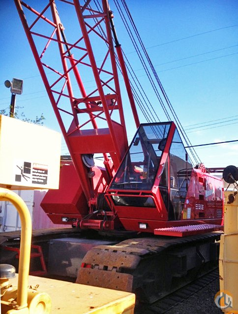 2001 Manitowoc 222 Series B Lattice Boom Crawler Crane for Sale on CraneNetworkcom