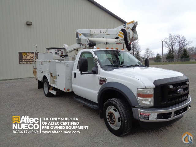 2008 ALTEC AT37G Crane for Sale in Fort Wayne Indiana on CraneNetworkcom