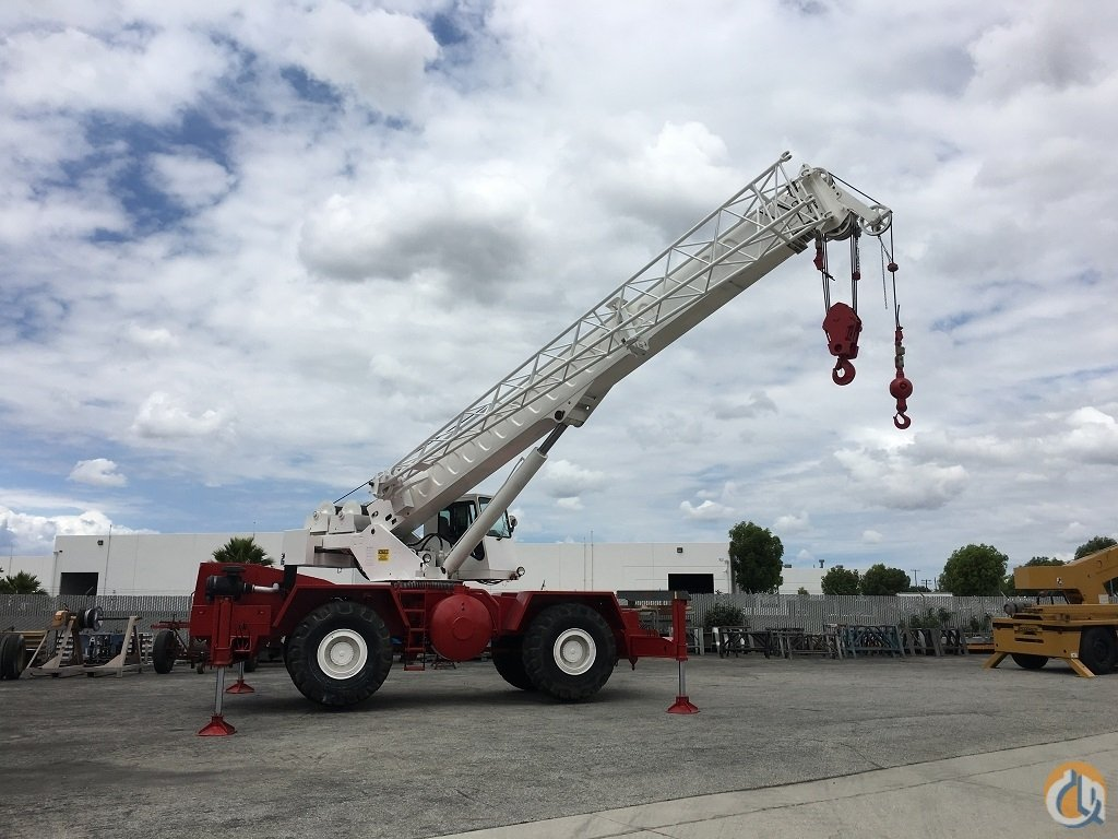 1989 Link-Belt HSP8030 Rough Terrain Crane for Sale on CraneNetwork.com