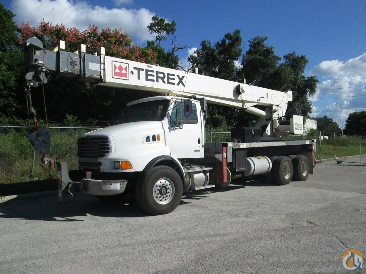 2007 Terex RS 70100 Mounted on 2007 Sterling LT9500 Crane for Sale in Tampa Florida on CraneNetwork.com