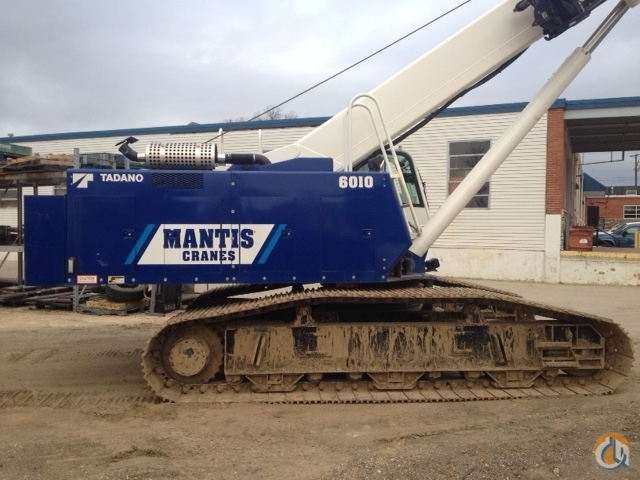 Mantis 6010 Hydraulic Crawler - ML Cranes  Equipment Crane for Sale or Rent in Charlotte North Carolina on CraneNetwork.com