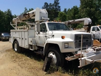 Sold 1991 Altec F800 Crane for  in Concord North Carolina on CraneNetwork.com