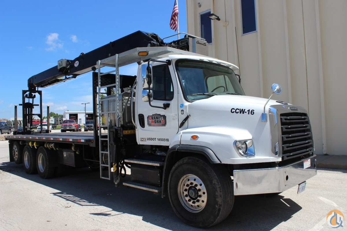 Cormach 30000 WB65 wallboard crane mounted to 2016 Freightliner 114SD chassis Crane for Sale or Rent in Olathe Kansas on CraneNetwork.com