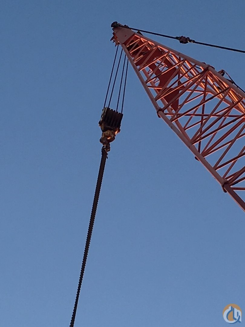 Manitowoc 4000 Crane for Sale in Seattle Washington on CraneNetwork.com