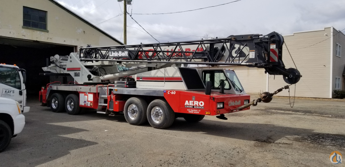 Sold 2007 Link Belt HTC-8660 II Crane for  in South Windsor Connecticut on CraneNetwork.com