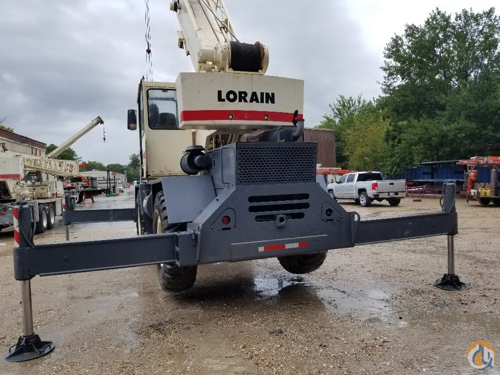 1991 Lorain LRT275D for sale Crane for Sale in Houston Texas on CraneNetwork.com