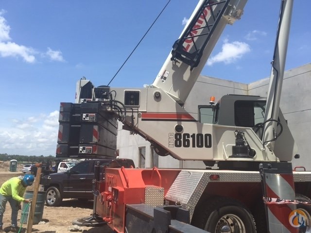 Sold 2014 Link-Belt HTC-86100 Crane for  in Orlando Florida on CraneNetwork.com