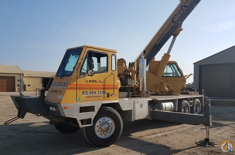 1998 Terex T340  40 ton hydraulic truck crane Crane for Sale in Ladd Illinois on CraneNetwork.com