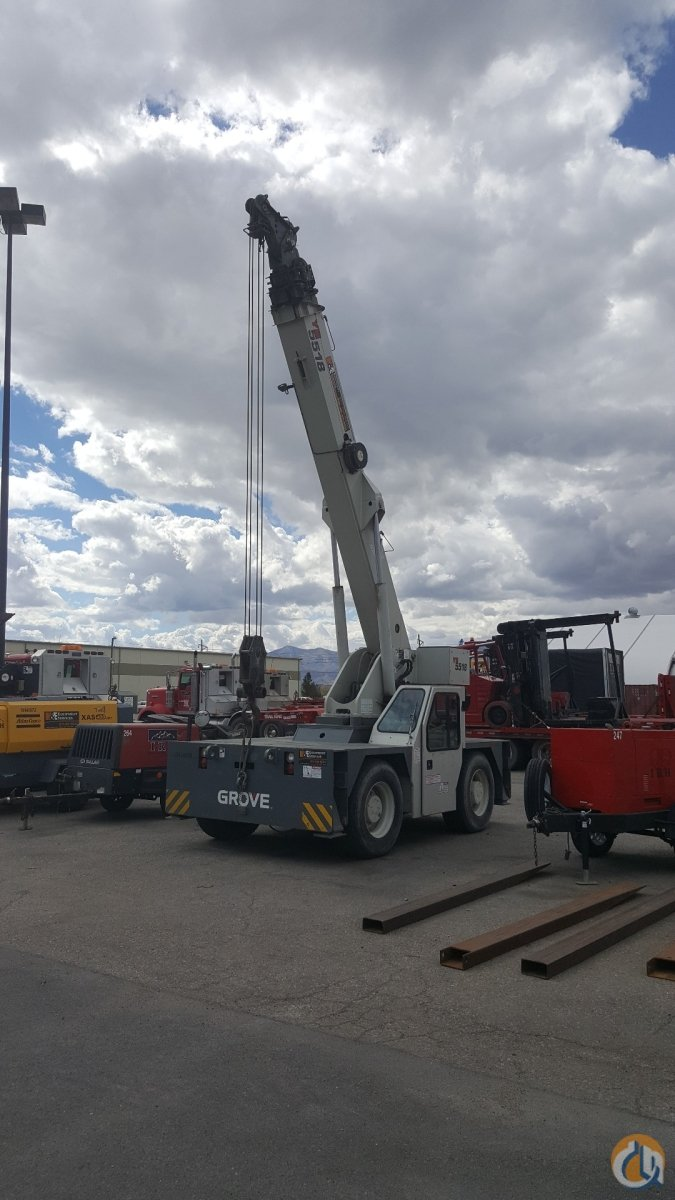Grove YB5518 Carry Deck Industrial Cranes Crane for Sale Carrydeck Crane for Sale in Salt Lake City  Utah  United States 217841 CraneNetwork