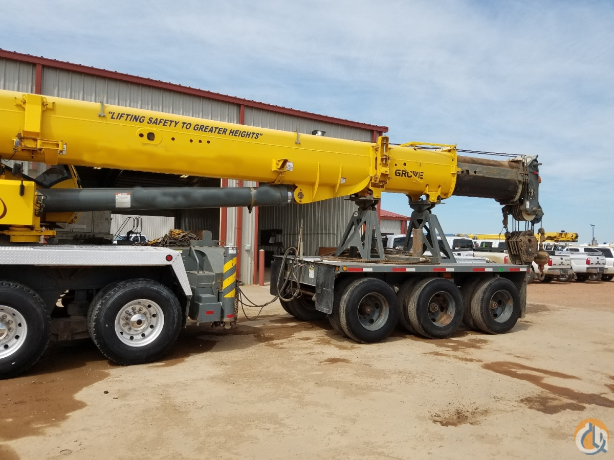 2008 Grove TMS900E with Boom Dolly Crane for Sale on CraneNetwork.com