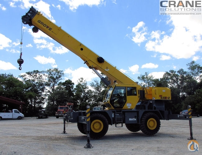 2012 Grove RT530E-2 Crane for Sale in Savannah Georgia on CraneNetworkcom