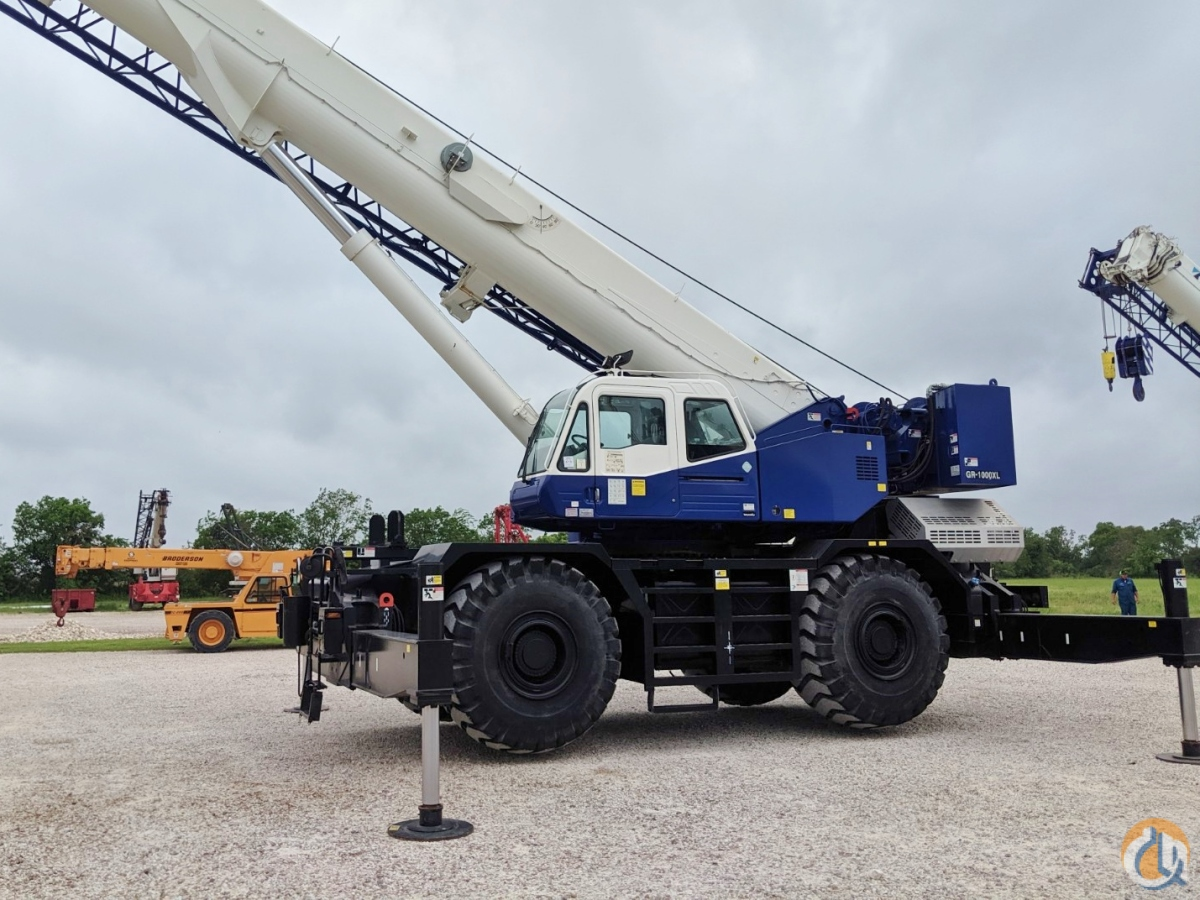 2015 TADANO GR-1000XL-3 Crane for Sale or Rent in Savannah Georgia on CraneNetwork.com