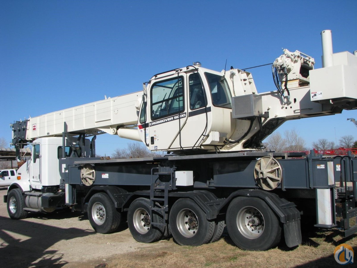 2013 TEREX CROSSOVER 5000 Crane for Sale in Lewisville Texas on CraneNetwork.com