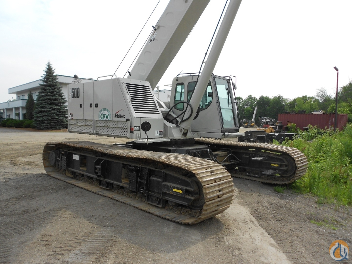 2014 Link-Belt TCC500 Crane for Sale in Oxford Massachusetts on CraneNetworkcom