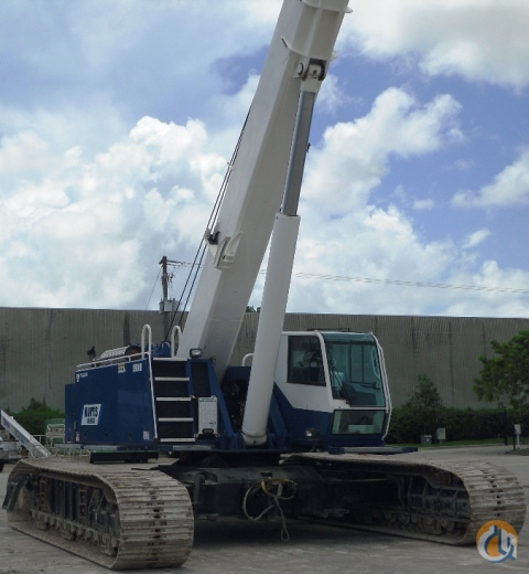 2013 Mantis 77 Ton 15010 Hyd Boom Crawler Crane for Sale in Pompano Beach Florida on CraneNetwork.com