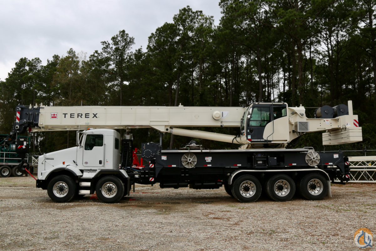Used Terex Crossover 8000 boom truck on 2019 Kenworth T800 chassis Crane for Sale or Rent in Houston Texas on CraneNetwork.com