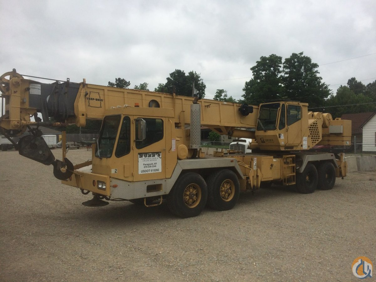 1996 Grove TMS750B Crane for Sale in Paragould Arkansas on CraneNetworkcom