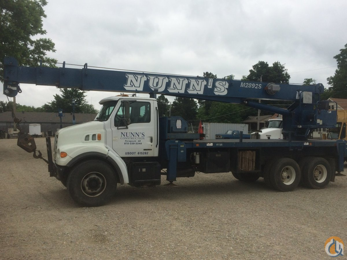 Sold 1999 Sterling Truck wManitex M2892S Crane Crane for  in Paragould Arkansas on CraneNetwork.com