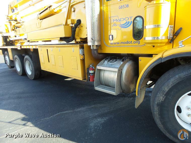 Sold 1998 ASPEN UB50 MOUNTED ON A PETERBILT 378 Crane for in