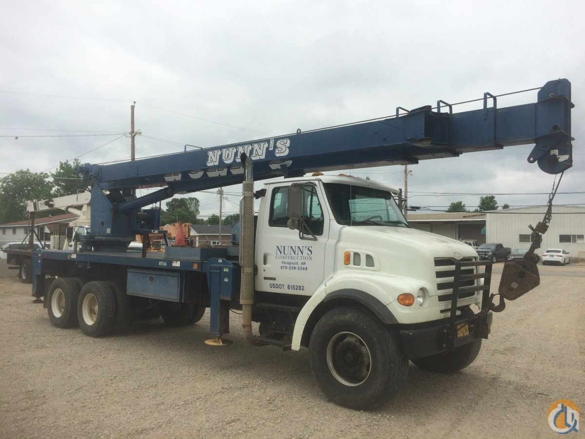 Sold 1999 Sterling Truck wManitex M2892S Crane Crane for  in Paragould Arkansas on CraneNetworkcom