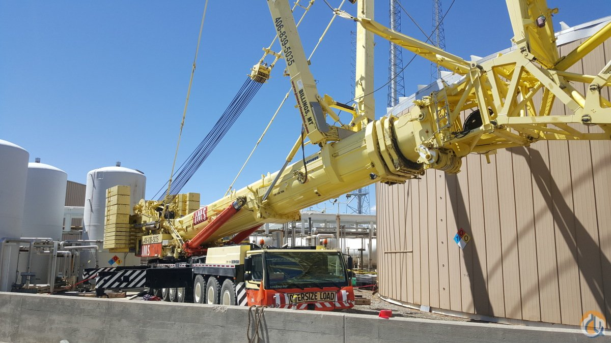 2012 Liebherr LTM 1500-8.1 Crane for Sale in Billings Montana on CraneNetwork.com