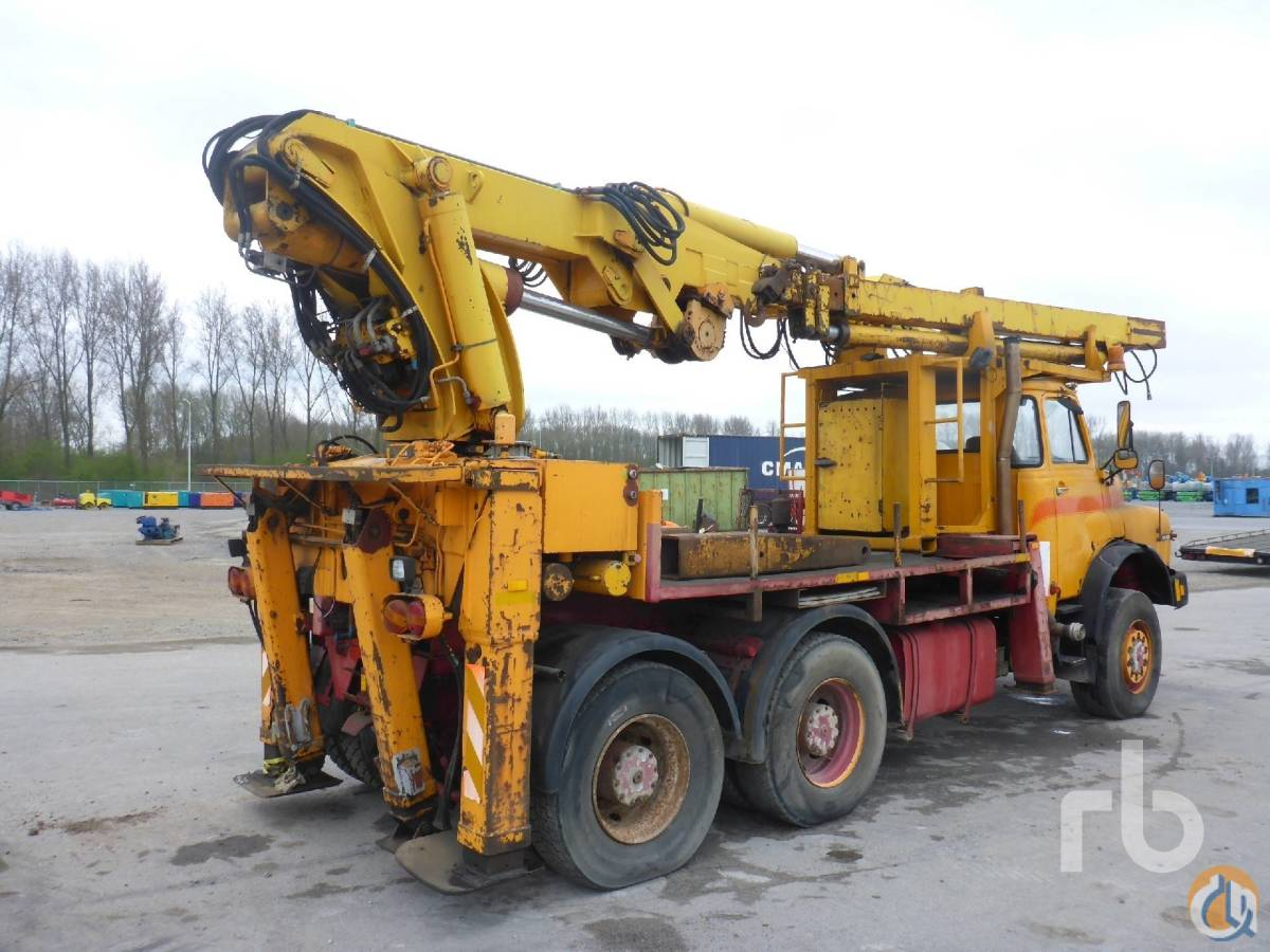 Sold MAN 26321 6x6 Boom Truck Crane for  in Moerdijk North Brabant on CraneNetworkcom