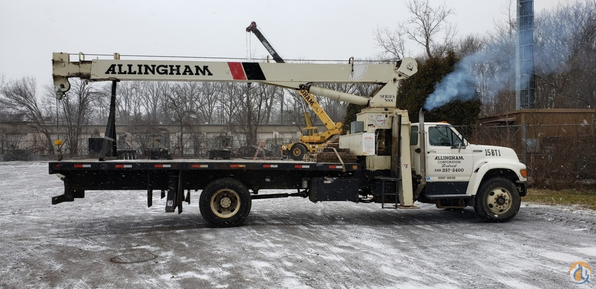 Boom Truck For Sale Crane for Sale in Southfield Michigan on CraneNetwork.com