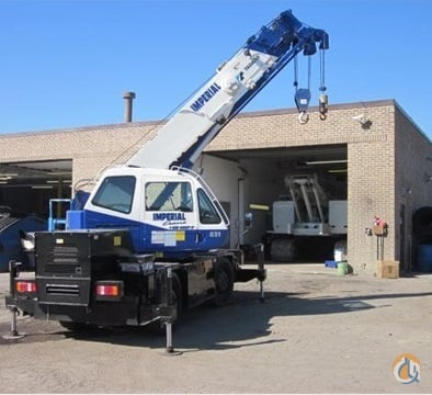 2007 TADANO TR-150XL-4 Crane for Sale or Rent in Chicago Illinois on CraneNetwork.com