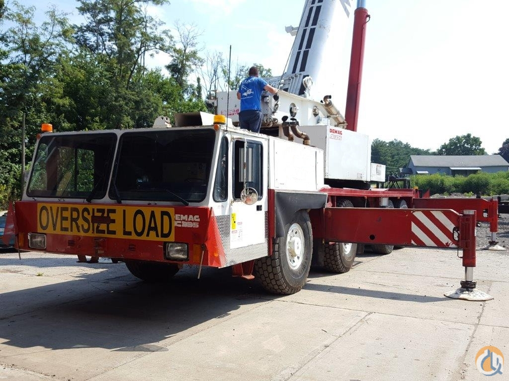 demag ac335 crane for sale on cranenetwork com rh cranenetwork com Demag Overhead Cranes Demag Crane Parts and Functions