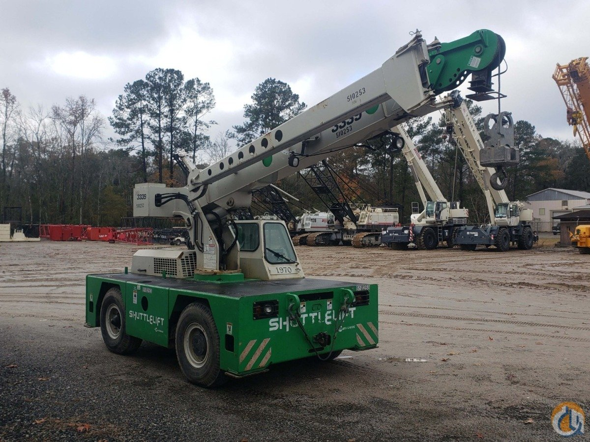 2013 SHUTTLELIFT 3339 Crane for Sale or Rent in Savannah Georgia on CraneNetwork.com