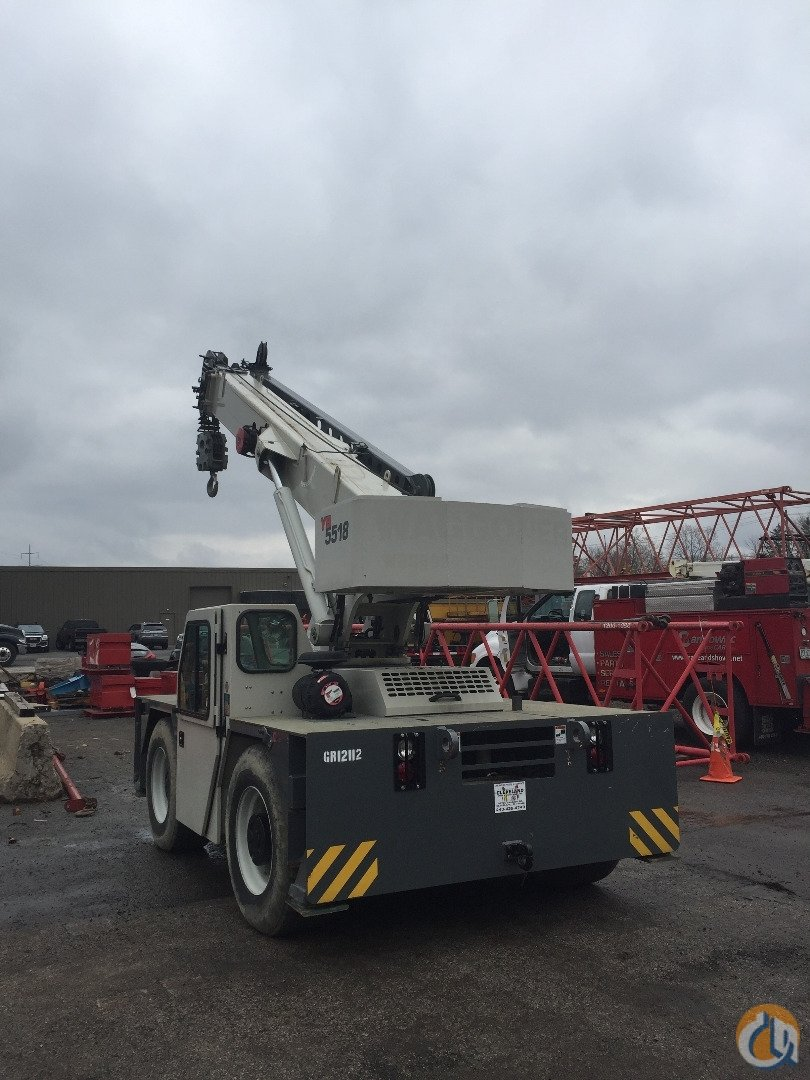 2012 Grove YB 5518 Crane for Sale or Rent in Cleveland Ohio on CraneNetwork.com