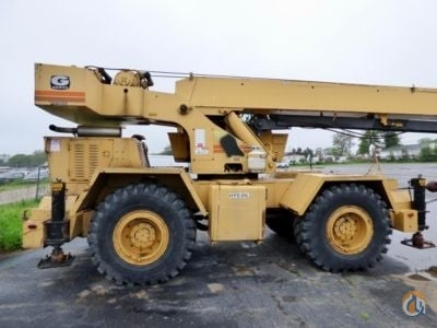 Sold 1981 Grove RT522 22-Ton 4x4 Crane for  in South Beloit Illinois on CraneNetwork.com