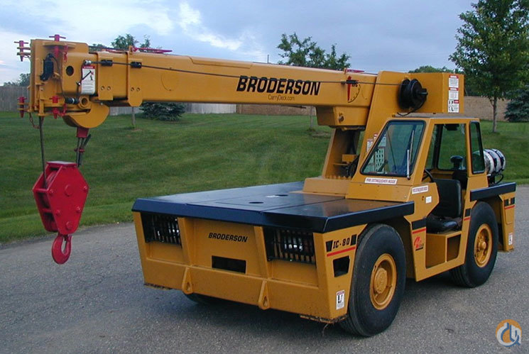 Sold 2000 Broderson IC80-3F No hours on reman engine  New