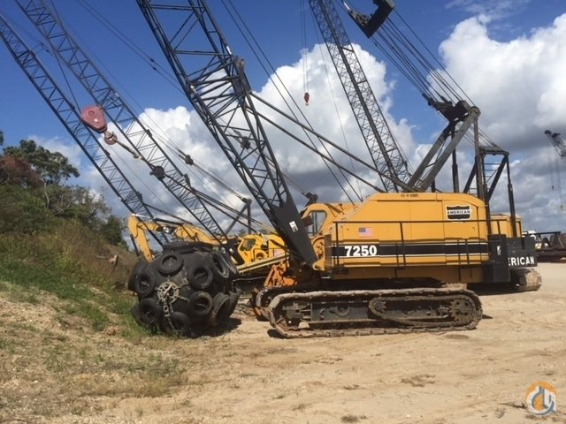 Sold REFURBISHED AMERICAN 7250 CRAWLER CRANE Crane for  in Houston Texas on CraneNetworkcom