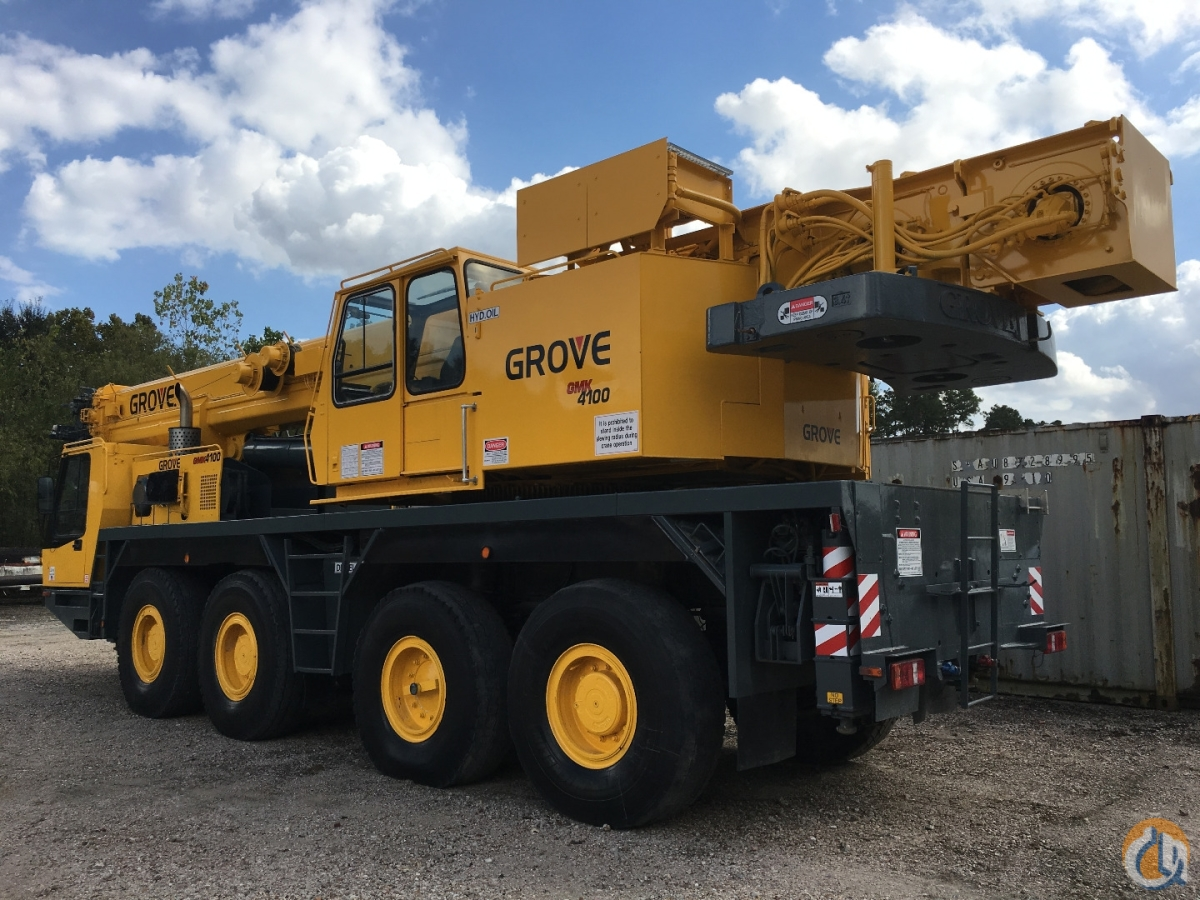 Grove GMK4100 All Terrain Cranes Crane for Sale 1997 GROVE 100 TON ALL TERRAIN in Houston  Texas  United States 217922 CraneNetwork