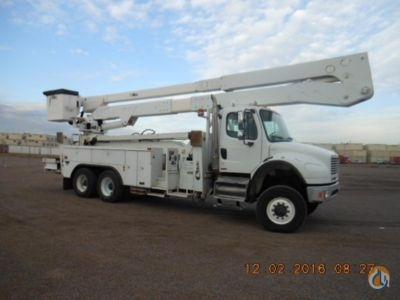 Sold 2009 Altec A77T-E93-MH Crane for  in Concord North Carolina on CraneNetwork.com