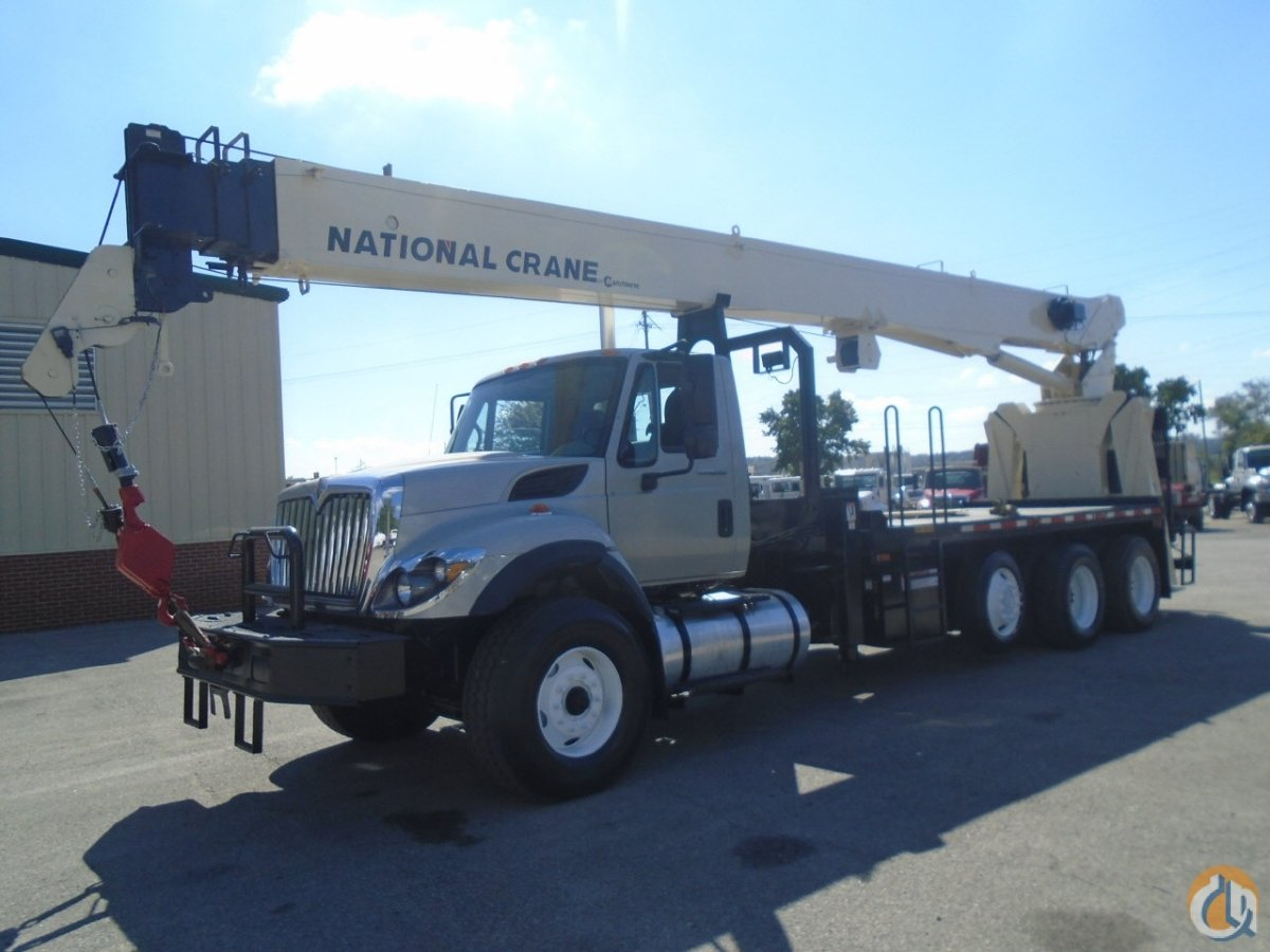 2009 National-International 9125A 26 Ton Boom Truck CranesList ID 238 Crane for Sale on CraneNetwork.com