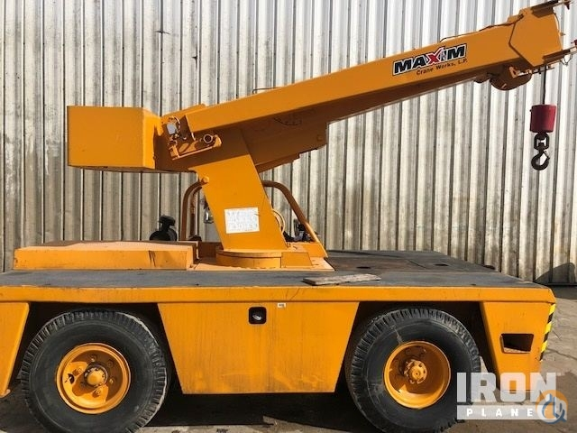Sold 1995 Broderson IC801D Carry Deck Crane Crane for  in Houston Texas on CraneNetwork.com