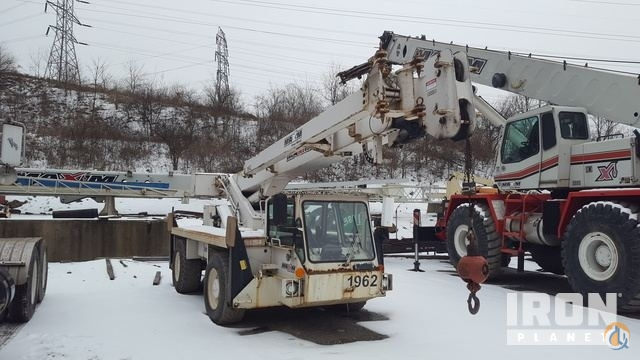 Sold 1998 Lorain CD115 Rough Terrain Crane Crane for  in West Mifflin Pennsylvania on CraneNetwork.com