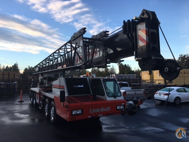 Sold 2015 Link Belt HTC-86100 Crane for  in Sunnyvale California on CraneNetworkcom
