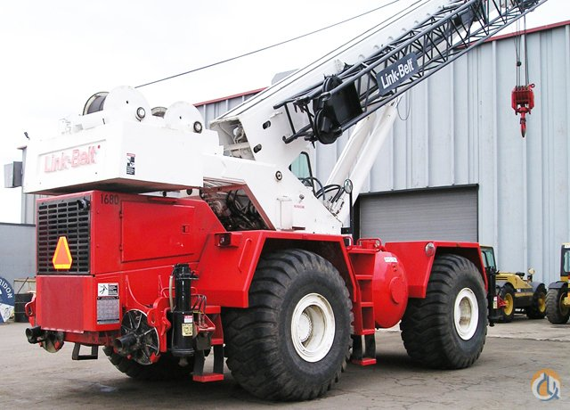 1996 Link-Belt RTC 8050 Rough Terrain Crane for Sale on CraneNetwork.com
